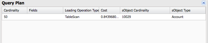 Large Data Volume and Use of Salesforce Query Plan Optimizer